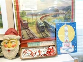 Antique Railroad Calendars