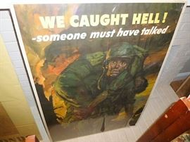 Authentic WWII posters