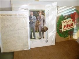 Advertisements, Indentures, Railroad Paper, Bank Documents, Political Items, Books, Magazines