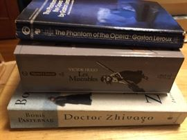 Classics: Doctor Zhivago, Les Miserable, The Phantom of the Opera Paperback editions