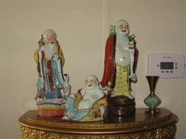 Oriental Porcelain Figures