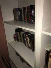 BOOKS, DVDS, VHS TAPES