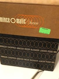 Vintage mince o matic!