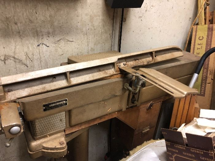 Simpson's-sears jointer model #103.20660