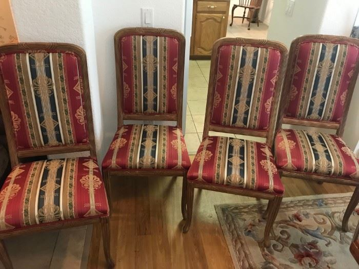 4 Nice Slipper Style Chairs