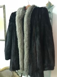 Gorgeous Mink and Sable Coat