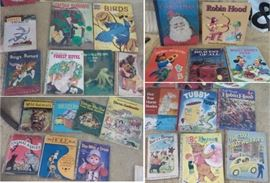 old children's books including Golden