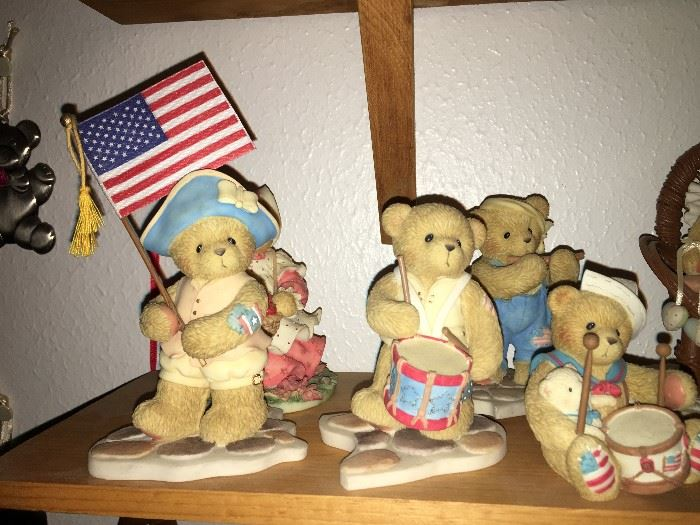 Gotta love it!!!! Patriotic Cherished Teddies