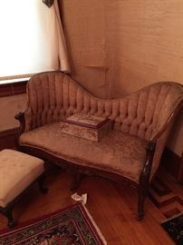 Victorian Rosewood Sofa