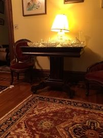 Empire Black Marble Top Center Table