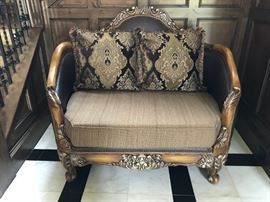 Custom Made Love seat Sette