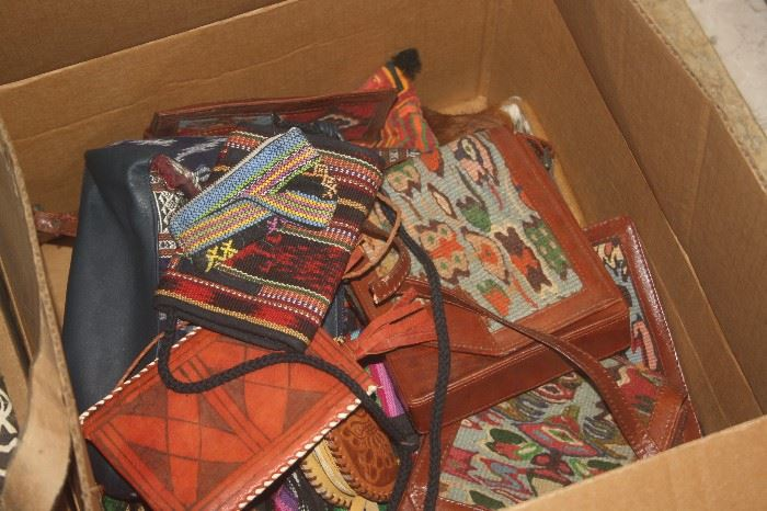 LOADS OF OLD NEW STOCK PURSES