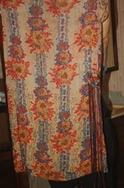 VINTAGE LACE AND BEADED DRESS