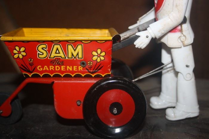 SAM THE GARDENER TOY