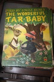 VINTAGE TAR BABY BOOK