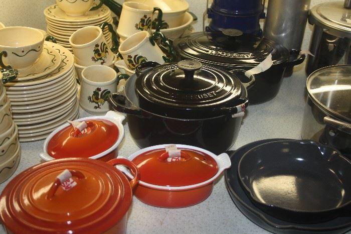 LE CREUSET PANS