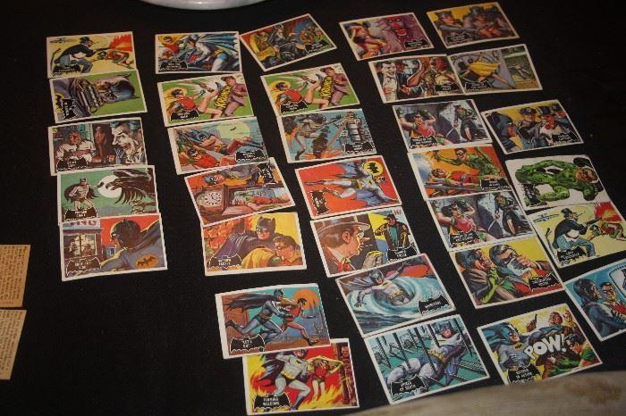 MORE BATMAN COLLECTOR CARDS ~ VINTAGE