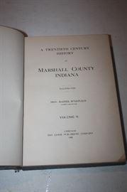 MARSHELL COUNTY BOOK
