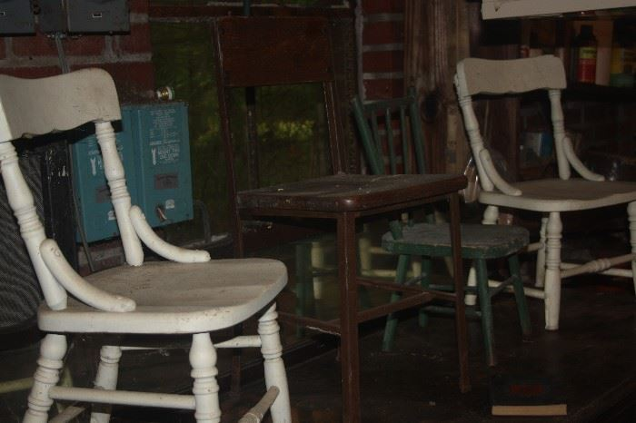 MORE CHILD'S CHAIRS