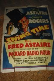 FRED ASTAIRE MOVIE POSTER