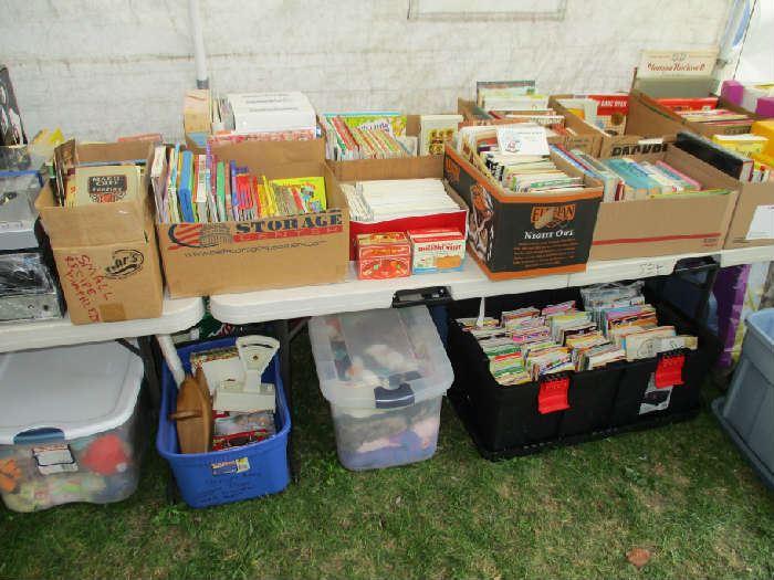 BOOKS-COOKBOOKS, CHILDREN, MAGAZINES