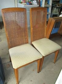 2 OF 4 DINING CHAIRS