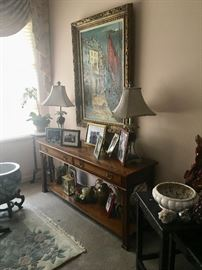 Vintage home decor, furniture & collectibles