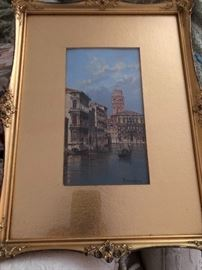 Water Canals of Venice by Antonietta Brandeis
