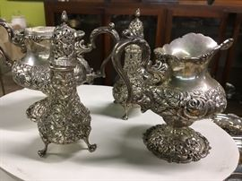 Sterling Repousse Kirk