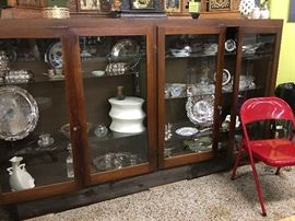 Cabinets full Sterling collectibes
