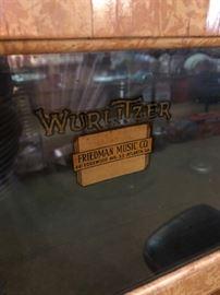 Wurlitzer Record Player
