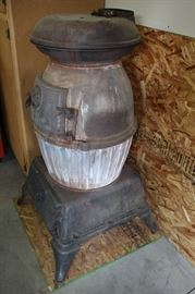 Potbelly Stove from Farragut Naval Base