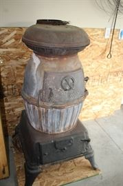 Potbelly Stove from Farragut Army Base