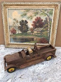 Rusty Firetruck