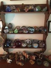 Paperweight & Cow collections
