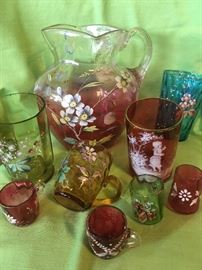 Victorian Glassware (small sampling)
