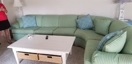 Take a seat on this great sectional! Sorry, table not available