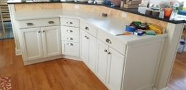 Kitchen detail - lots of cabinets to configure as you wish