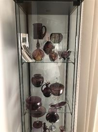 Amethyst Glassware