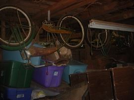 two great old bicycles