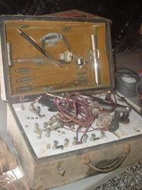 """""""SinusO Dial.....early medical instrument used by early Hoschton doctors, to """"zap"""" the sinus clean"""