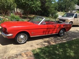 Family has decided to go ahead and sell this beautiful 1965 Mustang convertible, so maybe this will be your new collectible