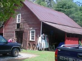 One of the 1900's barns...filled with all you can image OLD