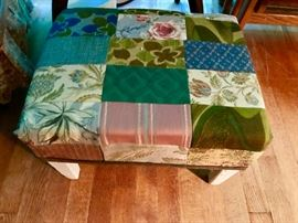 Quilted Stool