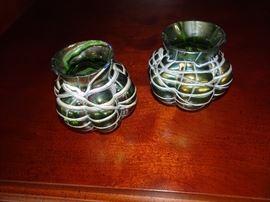 Loetz Art Glass Vases