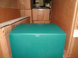 1 Case Of Green Gift Boxes