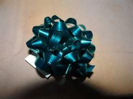 1 Case Of Mini Teal Mini Bows