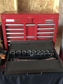 Socket Set, Tool Box