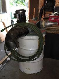Commercial Shop Vacuum System