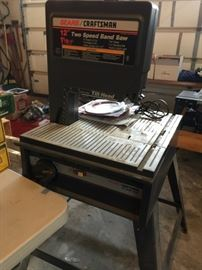 "Craftsman 12"" Band Saw"